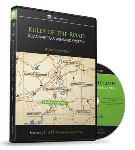 Rules of the Road Roadmap Sessions III & IV