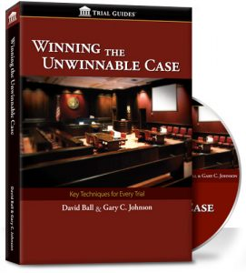Winning the Unwinnable Case